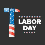 Święto Pracy sztandar Obrazy Stock