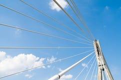 Świętokrzyski bridge, Warsaw, Poland. Świętokrzyski bridge in Poland's capital city Stock Photos