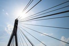 Świętokrzyski bridge, Warsaw, Poland. Świętokrzyski bridge in Poland's capital city Stock Photo