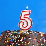 Świętować Pięć rok Zdjęcia Stock