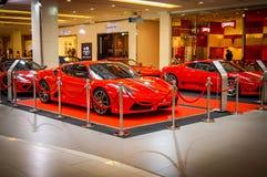 Świętować 25 rok Ferrari w Tajlandia Obraz Royalty Free