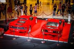 Świętować 25 rok Ferrari w Tajlandia Zdjęcia Royalty Free