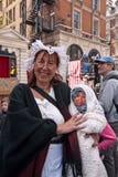 świętowania 350th urodzinowy mr poncz s Zdjęcie Royalty Free
