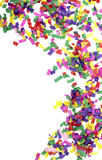 świętowania confetti świąteczny nowy rok zdjęcie stock
