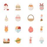 Świętowania Easter ikony Obrazy Royalty Free