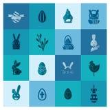 Świętowania Easter ikony Zdjęcie Stock