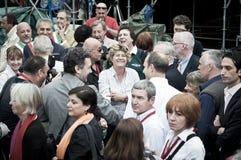 świętowania lajkonika Milan republika Zdjęcia Royalty Free