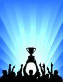 świętowania mistrzostwa drużyna Zdjęcia Royalty Free