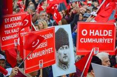 Świętowania republika dzień, Eskisehir w Turcja zdjęcie stock
