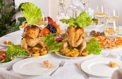 Świętowania stołowy położenie obraz stock