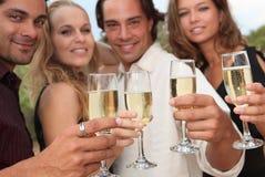 świętowania wigilii nowy rok Zdjęcie Stock