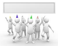 świętowanie Fotografia Stock
