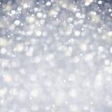Świętowanie abstrakt - Błyskotliwy magii światło Sparcle i gwiazdy Fotografia Stock