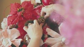Świętowanie atmosfera Przygotowywać dla bożych narodzeń i nowego roku Zdjęcie Stock