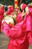 świętowanie chiński nowy rok muzyki. Zdjęcie Stock