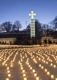 Świętowanie deportaci rocznica w Tallinn, Estonia Fotografia Royalty Free