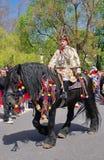 Świętowanie dni Brasov miasto fotografia royalty free