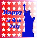 Świętowanie dzień niepodległości w Stany Zjednoczone Obraz Royalty Free