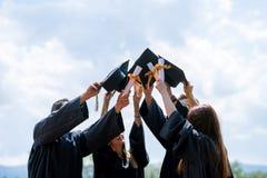 Świętowanie edukaci skalowania Studencki sukces Uczy się Concep zdjęcie royalty free