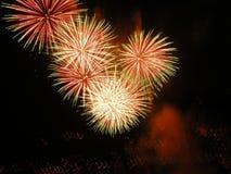 świętowanie eksplozję Obrazy Royalty Free