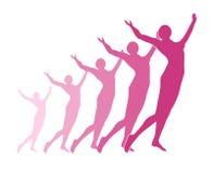 świętowanie fitness sylwetka fizycznej Zdjęcie Royalty Free