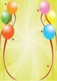 Świętowanie karta Zdjęcia Royalty Free