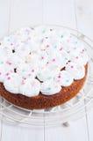 Świętowanie marchwiany tort Zdjęcia Stock