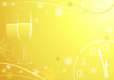 świętowanie nowy rok Fotografia Stock