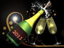 świętowanie nowy rok Zdjęcia Stock