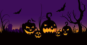 świętowanie ogrodowy Halloween Zdjęcie Royalty Free