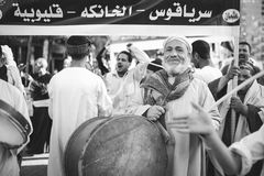 Świętowanie sposób Rifai Sufi Egipt Zdjęcie Royalty Free