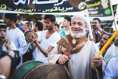 Świętowanie sposób Rifai Sufi Egipt Obrazy Stock