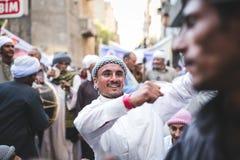 Świętowanie sposób Rifai Sufi Egipt Zdjęcia Stock