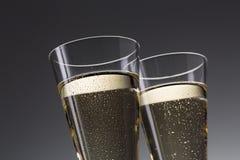 Świętowanie sylwester z szampanem obraz royalty free