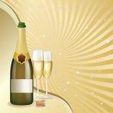 świętowanie szampan Obrazy Royalty Free