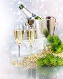 świętowanie szampan Obraz Royalty Free