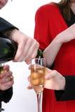 świętowanie szampana obraz stock