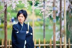 Świętowanie typowy ślub w Japonia Zdjęcie Royalty Free