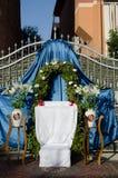 Świętowanie uczta Corpus Christi Zdjęcia Stock