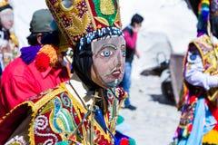 Świętowanie w Ollantaytambo Peru Obraz Stock