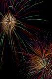 Świętowanie z fajerwerkami Fotografia Royalty Free