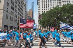 2015 Świętuje Izrael paradę w Miasto Nowy Jork Zdjęcie Stock
