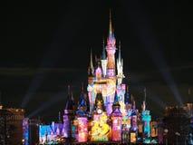 Świętuje! Tokio Disneyland przedstawienie 2018 fotografia stock