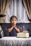 Świętuje urodziny Obrazy Stock