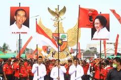 Świętuje wybory zwycięstwo Zdjęcie Stock