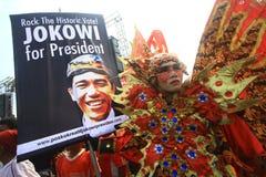 Świętuje wybory zwycięstwo Zdjęcia Stock