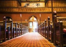 Święty światło w trójca kościół Zdjęcie Royalty Free