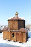 Święty źródło przy kościół St Panteleimon uzdrowiciel obrazy stock