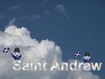 Święty Andrew Obrazy Stock