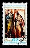 Święty Andrew i Francis, 450th narodziny rocznica El Greco, Zdjęcia Stock